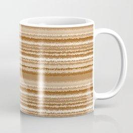 Tones of Brown Abstract Lines Coffee Mug