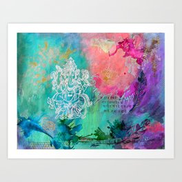 Christine's Ganeesh Art Print