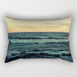 Alamillo Beach Sunset Rectangular Pillow