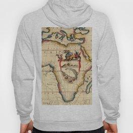 Vintage Map #2 Hoody