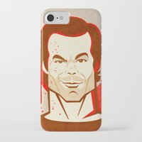 dexter iPhone & iPod Cases featuring Dexter by Martynas Juchnevicius