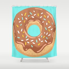 Donut collection Shower Curtain