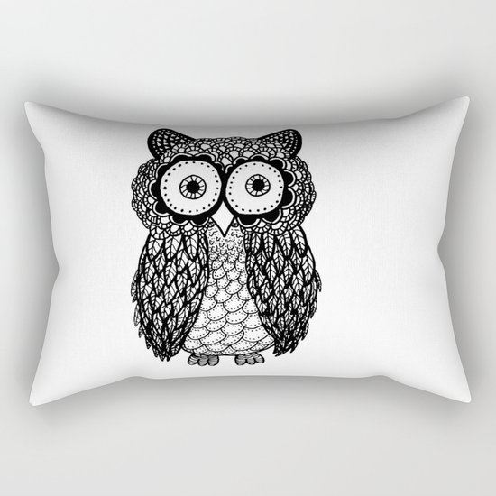 Pattern owl Rectangular Pillow