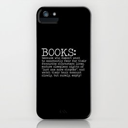 The Harsh Reality... (inverted) iPhone Case
