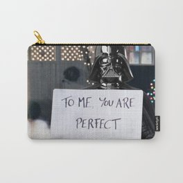 Darth Vader in Love Actually Carry-All Pouch