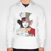 mad hatter Hoodies featuring Mad Hatter by Maryamodi