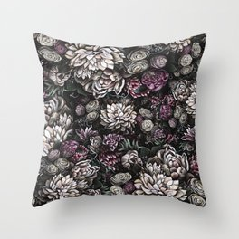 florals galore Throw Pillow