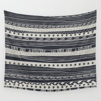 aztec Wall Tapestries featuring aztec by spinL