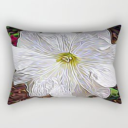 Enchanted Flower Rectangular Pillow