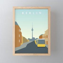 Berlin Framed Mini Art Print
