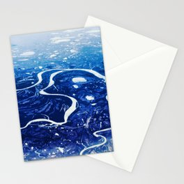 Overlook of Mountains and Rivers Stationery Cards