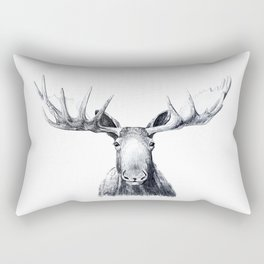 Moose Rectangular Pillow
