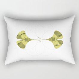 Geo Flora: Gingko Rectangular Pillow