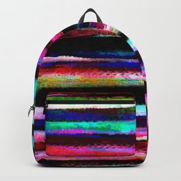 bohemian colorful pattern Backpack
