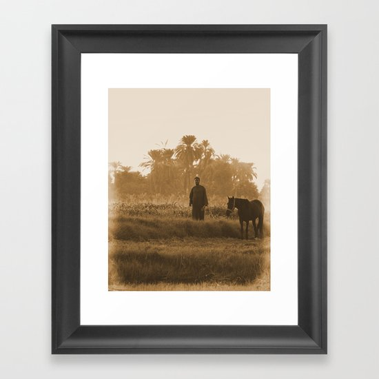 Half way Gone Framed Art Print