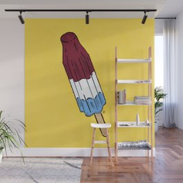 THERE'S ALWAYS TIME FOR A ROCKET POP! - YELLOW Wall Mural