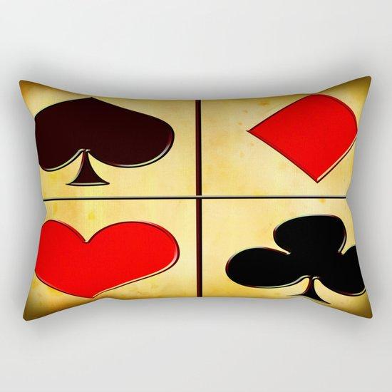 Suits Rectangular Pillow