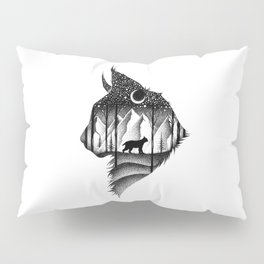 THE LYNX & THE MOON Pillow Sham