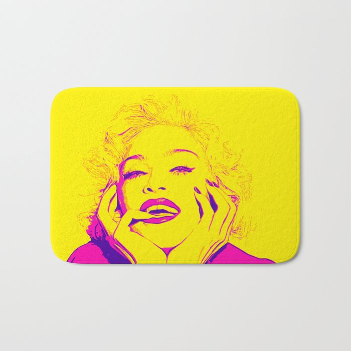 Bright Madonna Bath Mat
