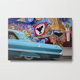 Impala en Aztlan Metal Print