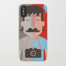 Moustachu Slim Case iPhone X