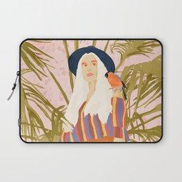 Bohemian Life #illustration #tropical #painting Laptop Sleeve