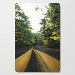 autumn in new england Cutting Board