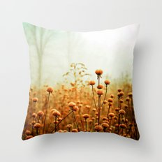 Daybreak in the Meadow Throw Pillow