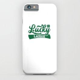 Lucky Lassie iPhone Case