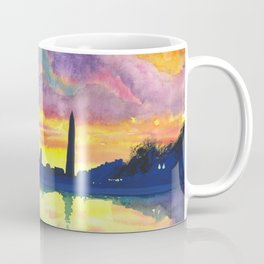 Sunset at the Monument Coffee Mug