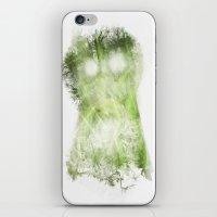 vegetable iPhone & iPod Skins featuring phantom vegetable by nosnop