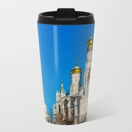 Moscow Kremlin cathedrals Travel Mug