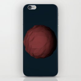 Planet Mars Low Poly iPhone Skin