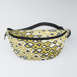 Asymmetry collection: retro shapes and colors Fanny Pack