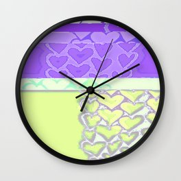 Heart 5 Wall Clock
