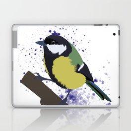 Great Tit Laptop & iPad Skin