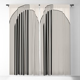Abstract Arch Blackout Curtain