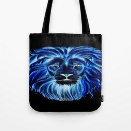Leão em neon Tote Bag