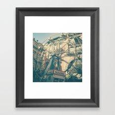 Small Dreams, Big City Framed Art Print