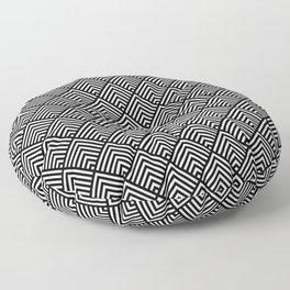 ART DECO 2 Floor Pillow