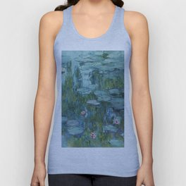 "Claude Monet ""Water Lilies"" (8)(1915) Unisex Tank Top"