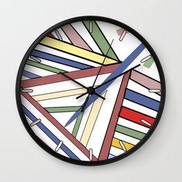 Haphazard Balance II Wall Clock