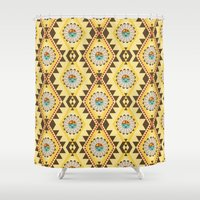 southwest Shower Curtains featuring Southwest  by Mia Valdez