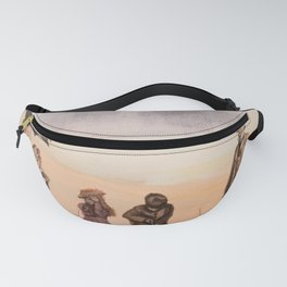 Victorian's Day at the Beach Fanny Pack