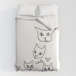 Cats Cat Comforters