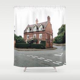British Architecture Shower Curtain