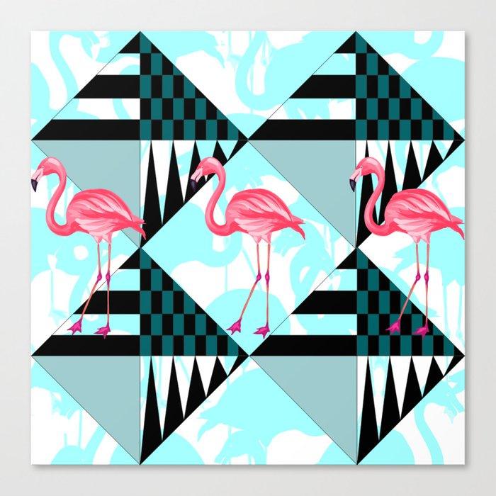 flamingo all days Canvas Print
