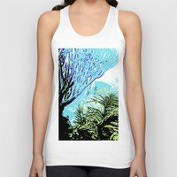 coral Tank Tops featuring Coral by Stephen Linhart