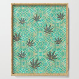 Beachy Steampunk Weed Serving Tray