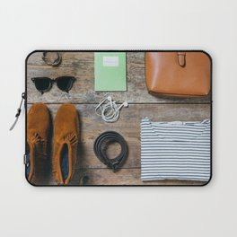 Get ready for the trip. Woman edition Laptop Sleeve